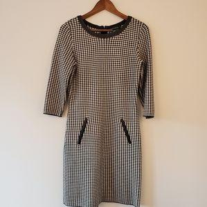 Ralph Lauren monochrome sweater Sheath dress m